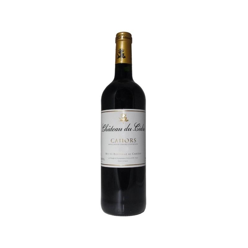 Ch teau du c dre 2012 vin rouge aoc cahors sud ouest for Prix du cedre rouge