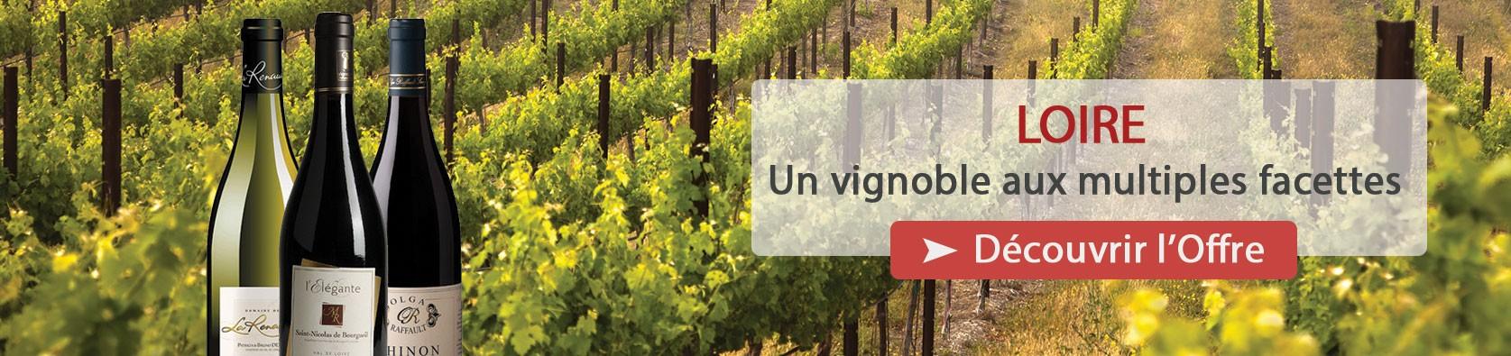 Découvrez notre sélection de Vins de la Vallée de la Loire