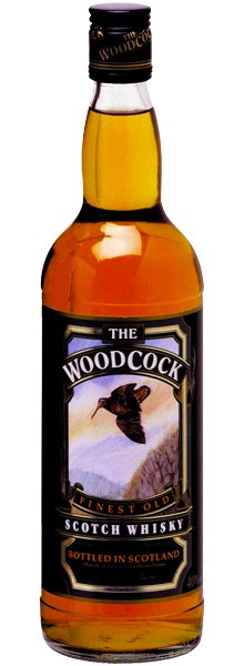 "Whisky ""Woodcock"" Finest Old Scotch"
