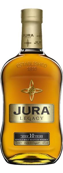 """Whisky Isle Of Jura """"Legacy"""" 10 ans"""