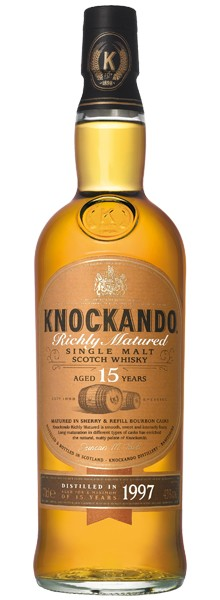 "Whisky ""Knockando"" 15 Ans"