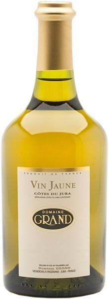 """Domaine Grand """"Vin Jaune"""" Côtes du Jura 2008"""
