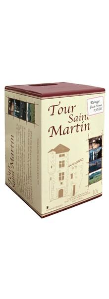 Tour Saint Martin BIB Rouge 10L
