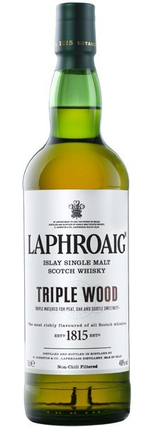 "Whisky Laphroaig ""Triple wood"""