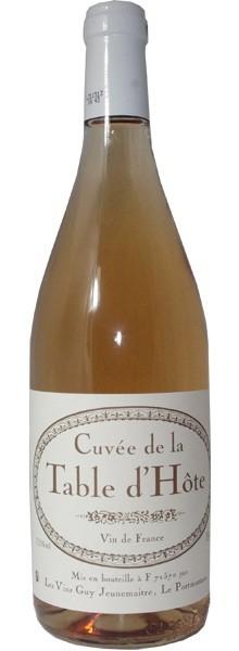 """Vins Guy Jeunemaître Cuvée """"Table d'Hôte"""" Rosé"""