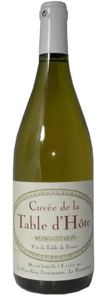 """Vins Guy Jeunemaître Cuvée """"Table d'Hôte"""" Blanc"""