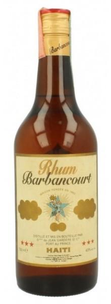 Rhum Agricole Barbancourt 3 étoiles - 4 ans