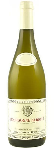 """Domaine Vincent Bouzereau """"Bourgogne Aligoté"""" 2015"""