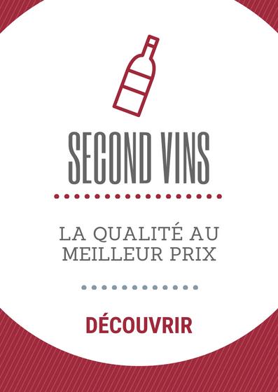 Découvrez l'ensemble de notre offre second vins