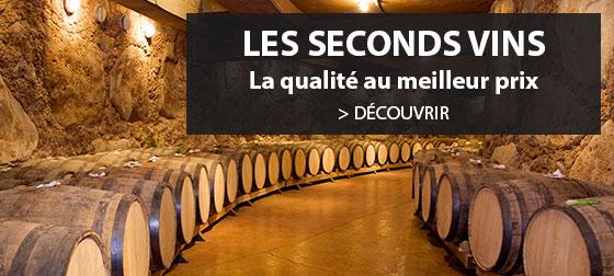 Découvrez toutes nos offres Seconds vins