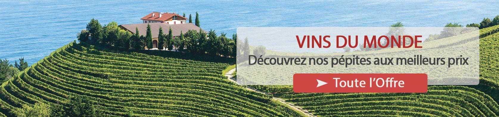 Découvrez notre sélection de vins étrangers