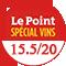 Le Point : 15.5/20