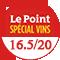 Le Point : 16.5/20