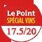 Le Point : 17.5/20