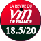 La Revue du Vin de France : 18.5/20